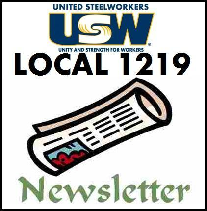 UNION NEWSLETTER